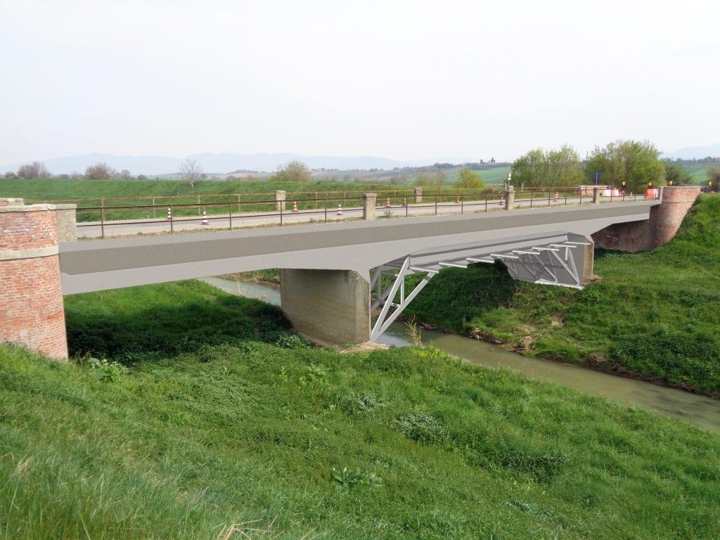 Via ai lavori sul ponte della SP 27 Castroncello - Brolio, riaprirà entro un mese