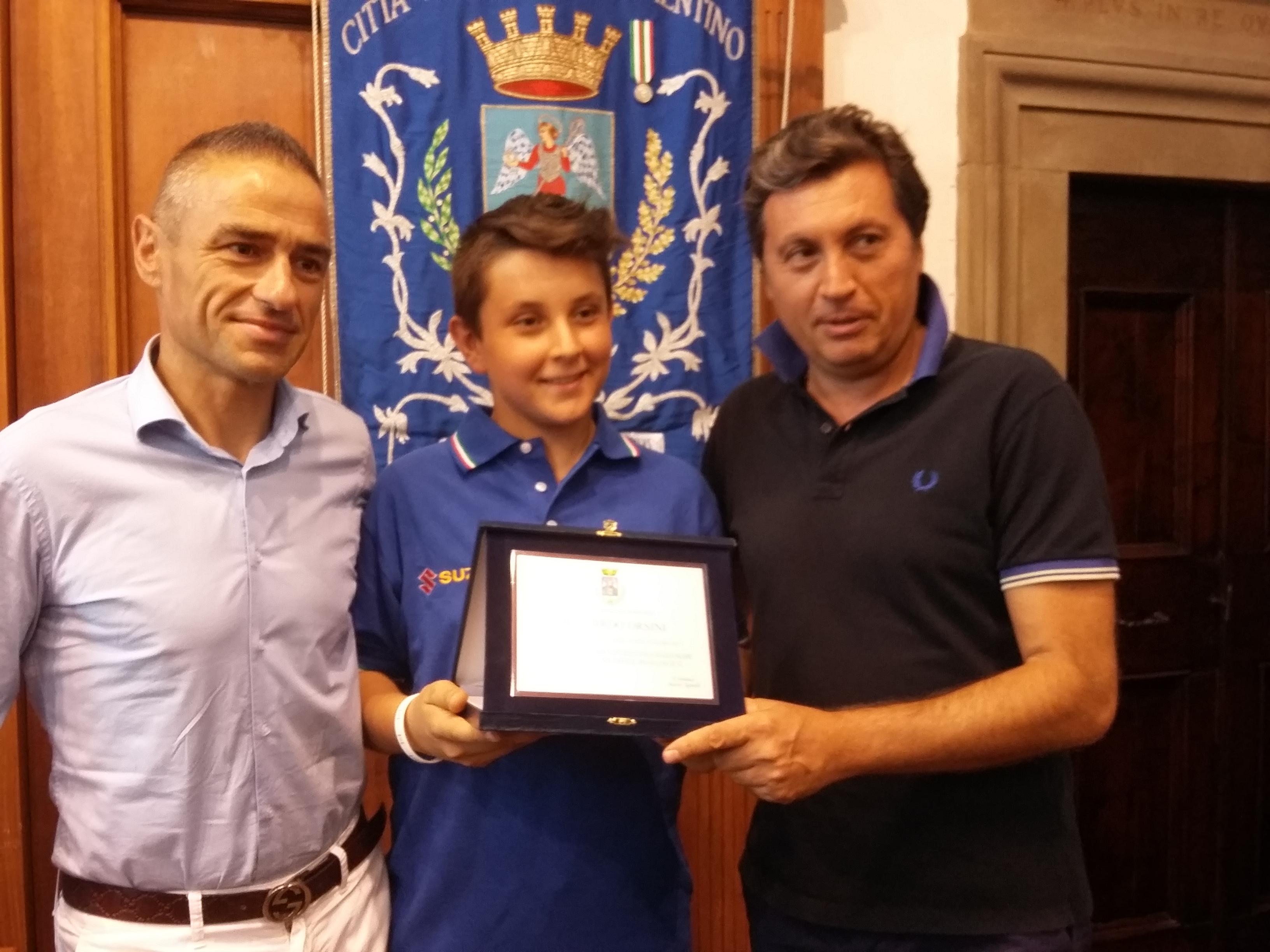Riccardo Orsini, 12 anni e già campione italiano di Mini Enduro