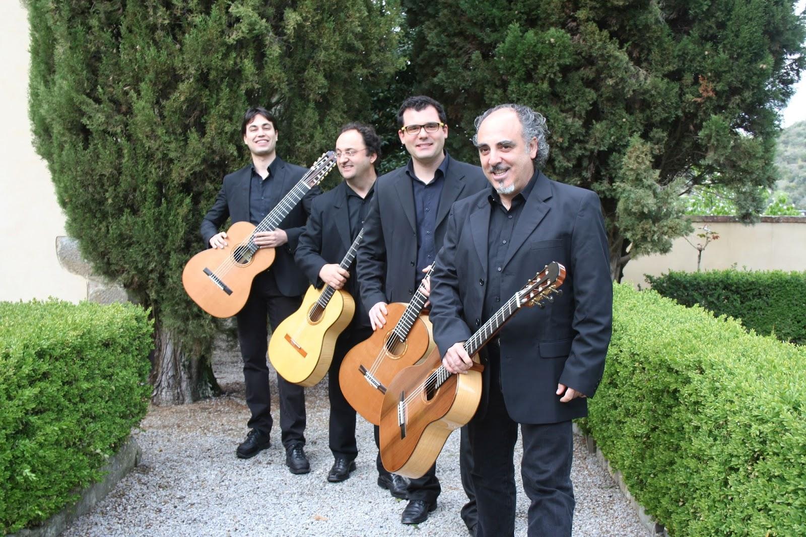 L'Alvarez Guitar Quartet per il concerto in ricordo di Marco Laurenzi