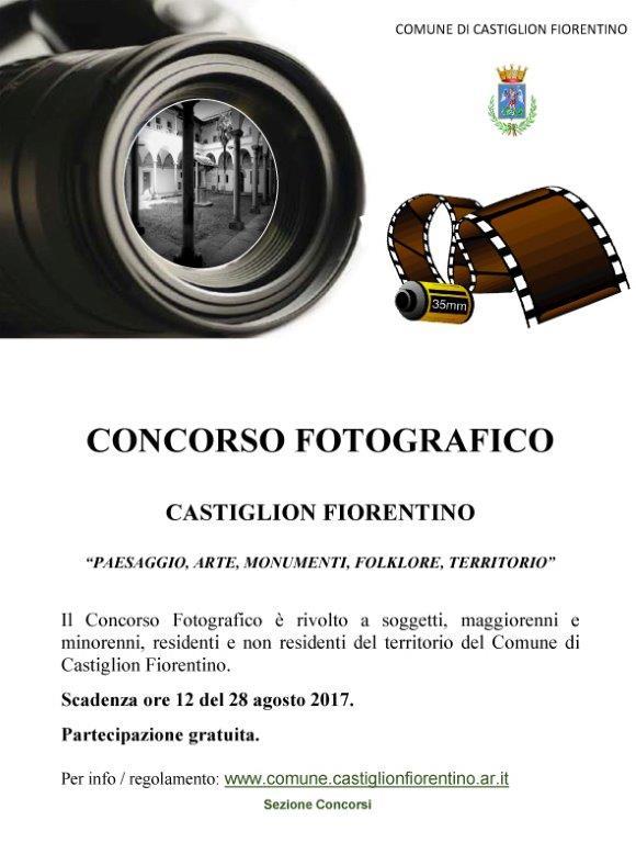 Un Concorso fotografico dedicato a Castiglion Fiorentino