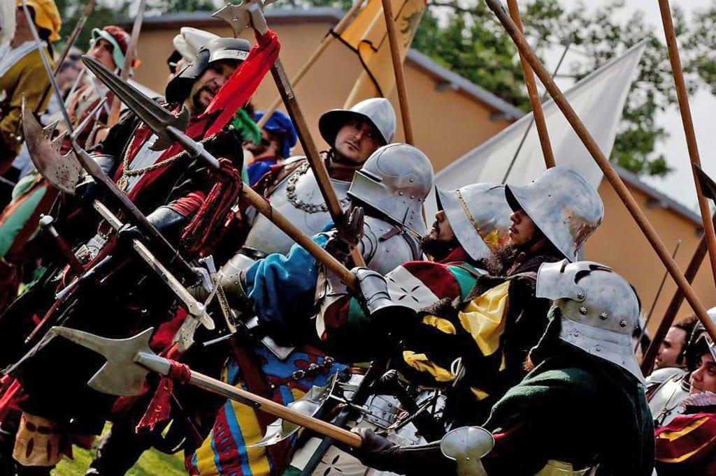 Arriva la prima rievocazione in notturna della battaglia di Scannagallo