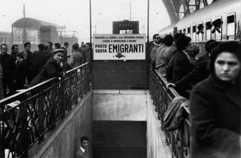 Storia aretina delle migrazioni, dal dopoguerra