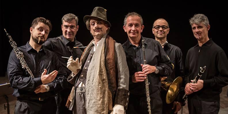 L'Opera protagonista al Girifalco col quintetto a fiati dell'ORT e l'attore trasformista Alessandro Riccio