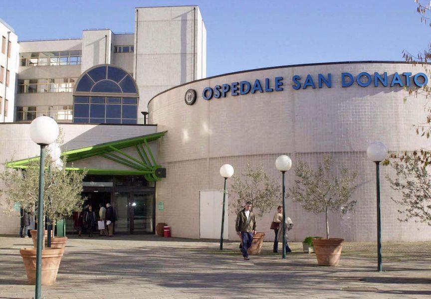 40enne muore cadendo da una finestra dell'Ospedale San Donato