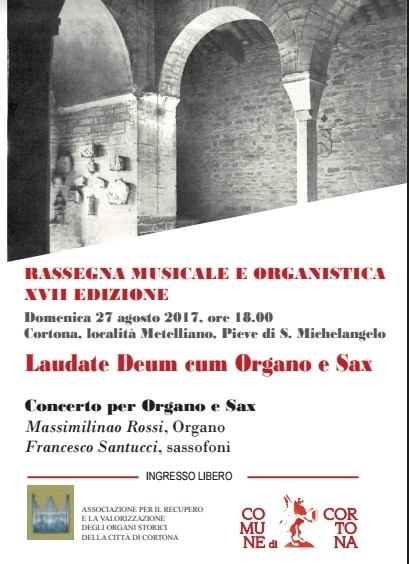 Francesco Santucci e Massimiliano Rossi in concerto a Metelliano