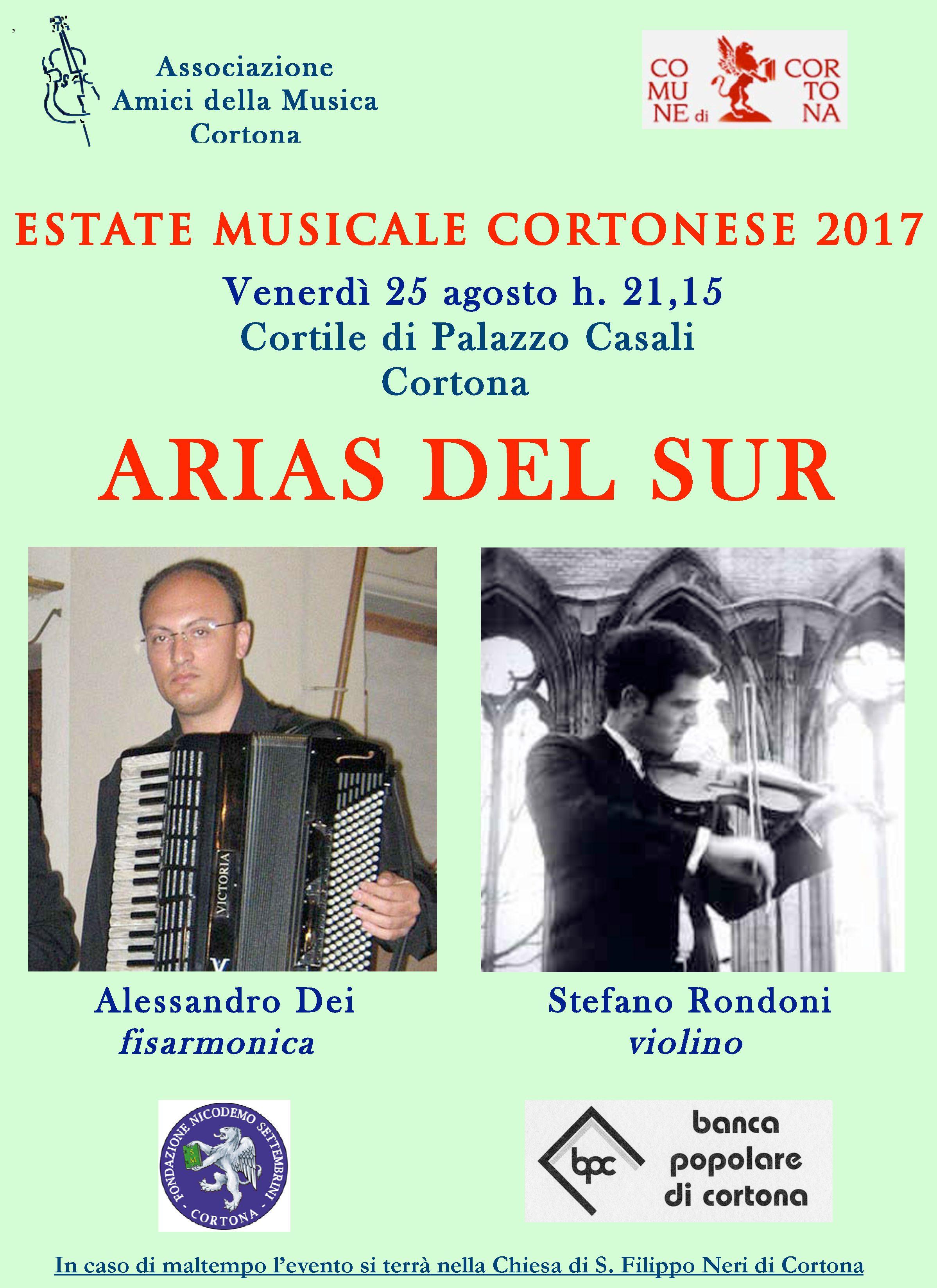 'Arias del Sur', Dei e Rondoni rivisitano Piazzolla