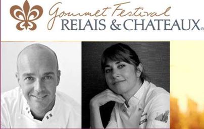 Gourmet Festival Relais & Châteaux fa tappa a Il Falconiere di Cortona