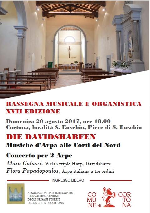Un concerto d'arpa nella Pieve di Sant'Eusebio