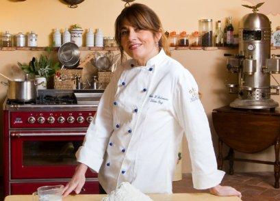 Silvia Baracchi de Il Falconiere di Cortona nell'Euro-Toques il leone dell'alta cucina