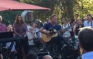 Al Palagio Sting festeggia il suo anniversario di matrimonio