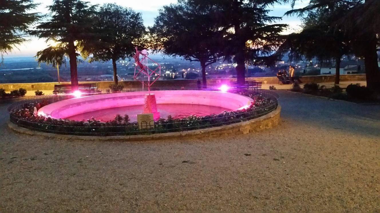 La fontana di Piazza Matteotti