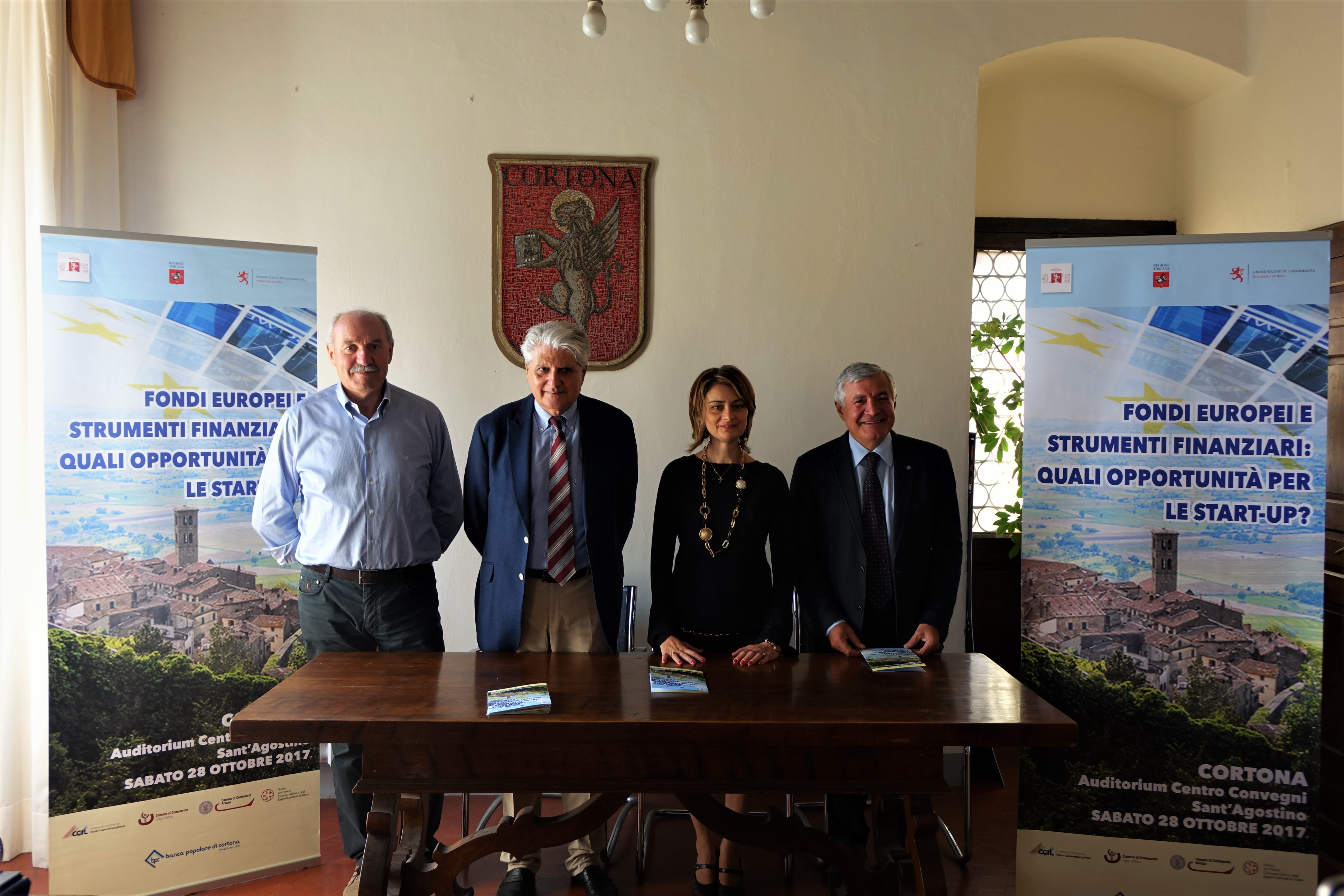 Fondi europei e Start Up, Cortona collabora con il Granducato del Lussemburgo