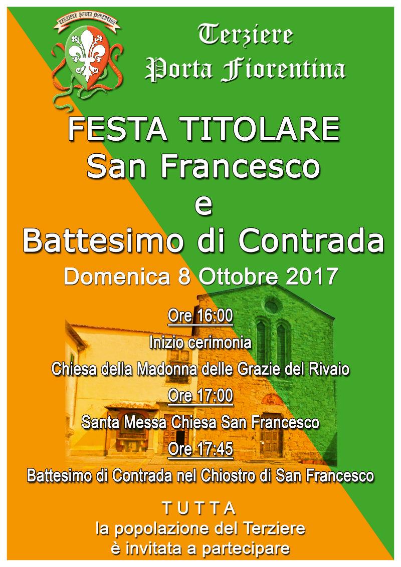 Festa Titolare del Terziere di Porta Fiorentina