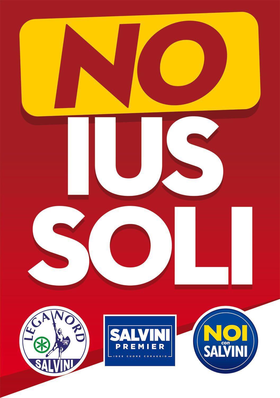 Gazebo di Lega Nord a Cortona per il No allo Ius Soli