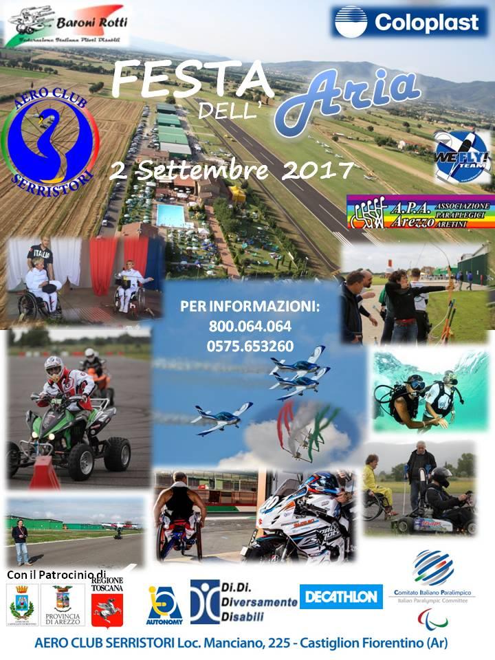 Festa dell'Aria all'Aeroclub Serristori