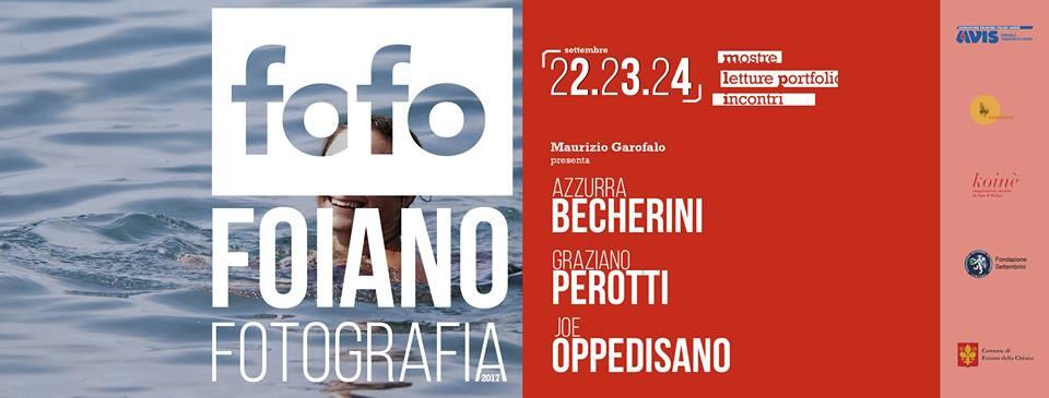 Foiano Fotografia, il programma dell'edizione 2017