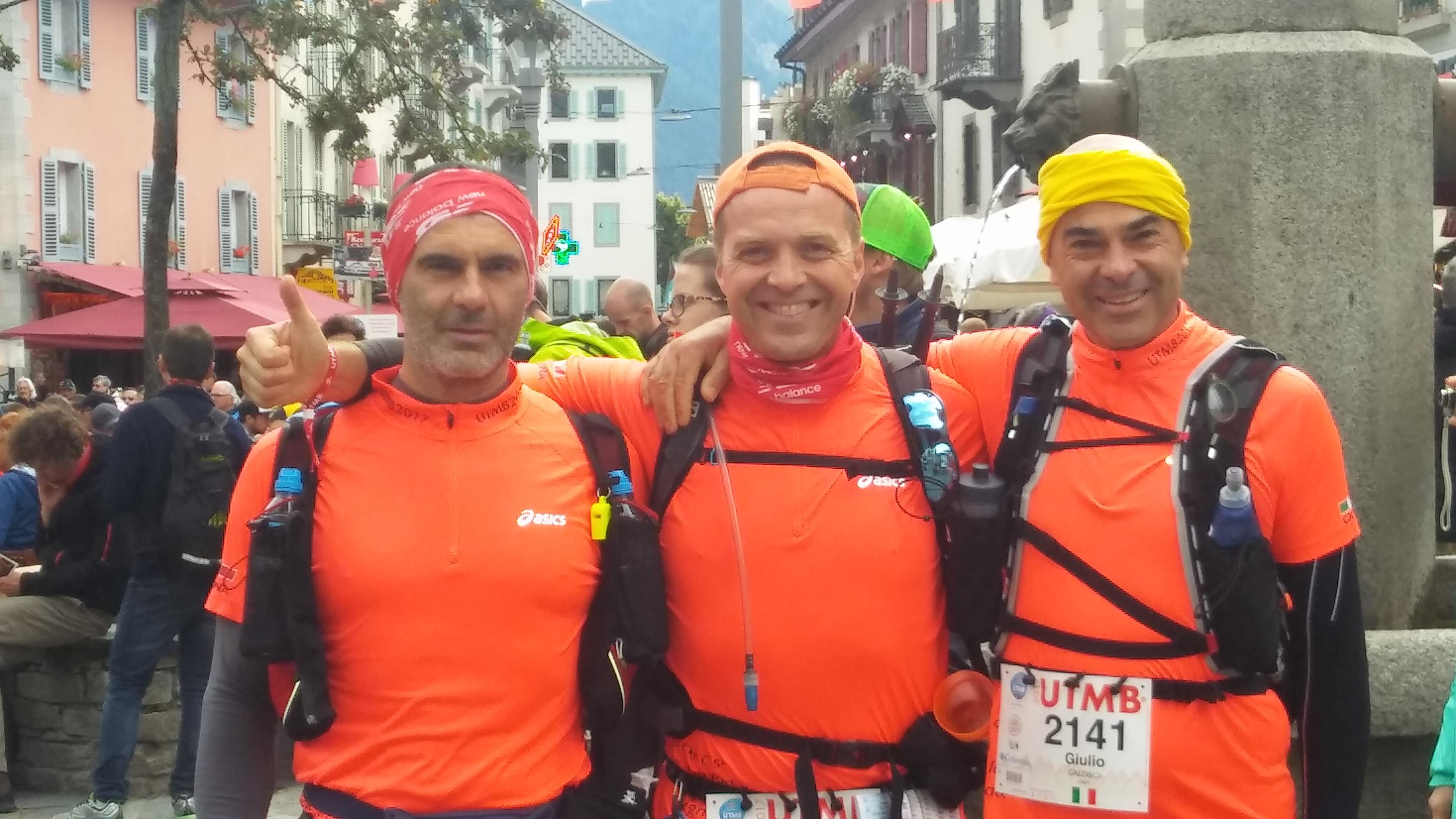 3 cortonesi alla UTMB, la gara più importante del Trail mondiale