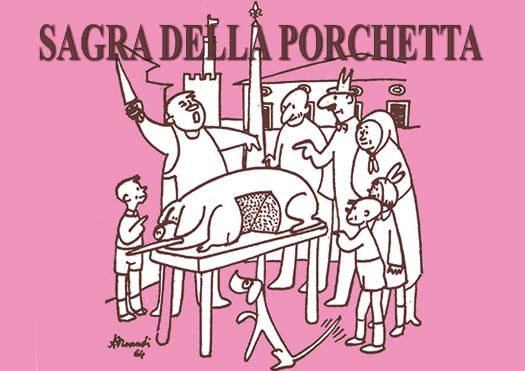 Sagra della Porchetta a Monte San Savino, gli eventi del weekend