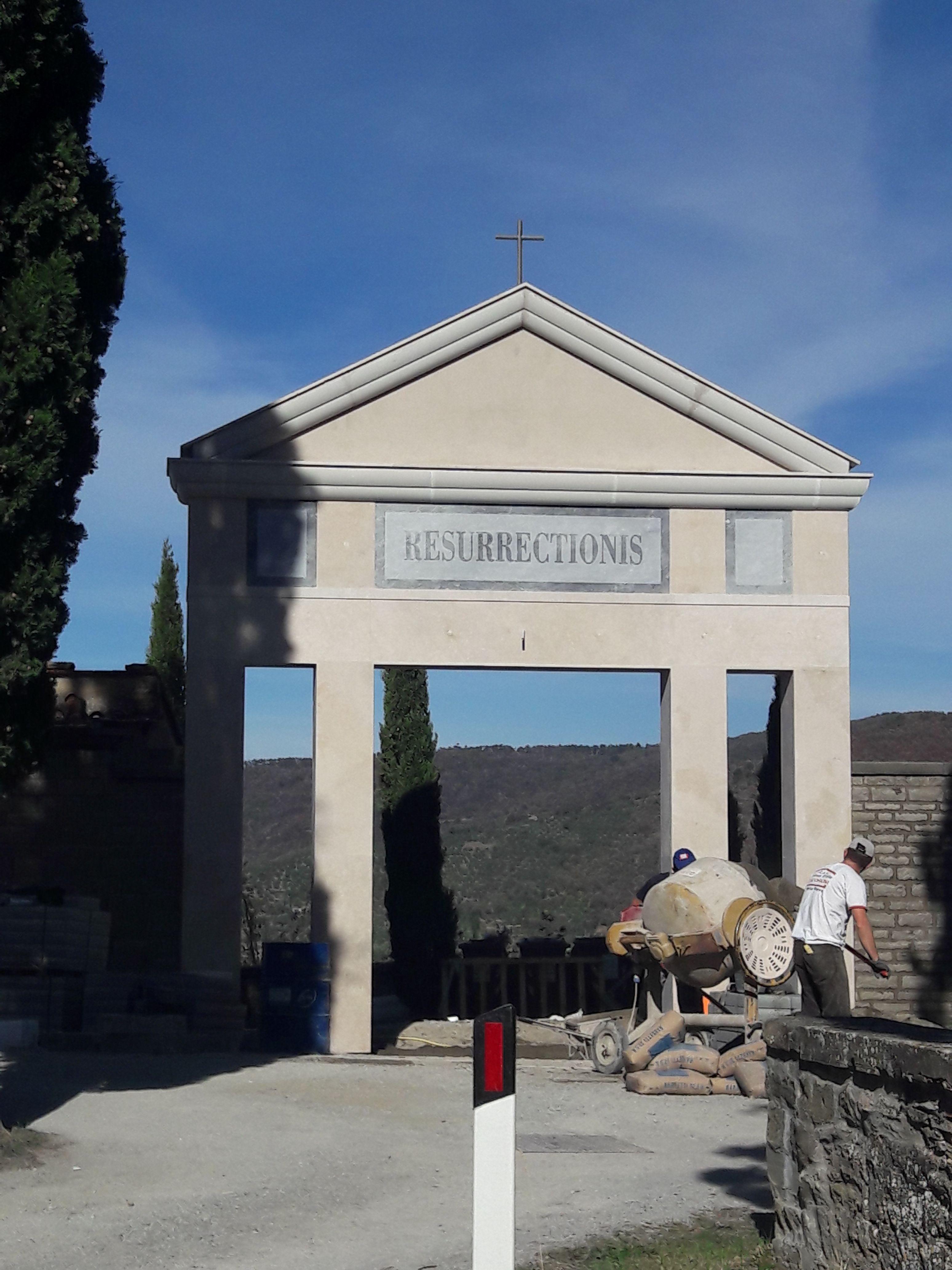 Recupero e restauro del cimitero cortonese, lavori in via di ultimazione