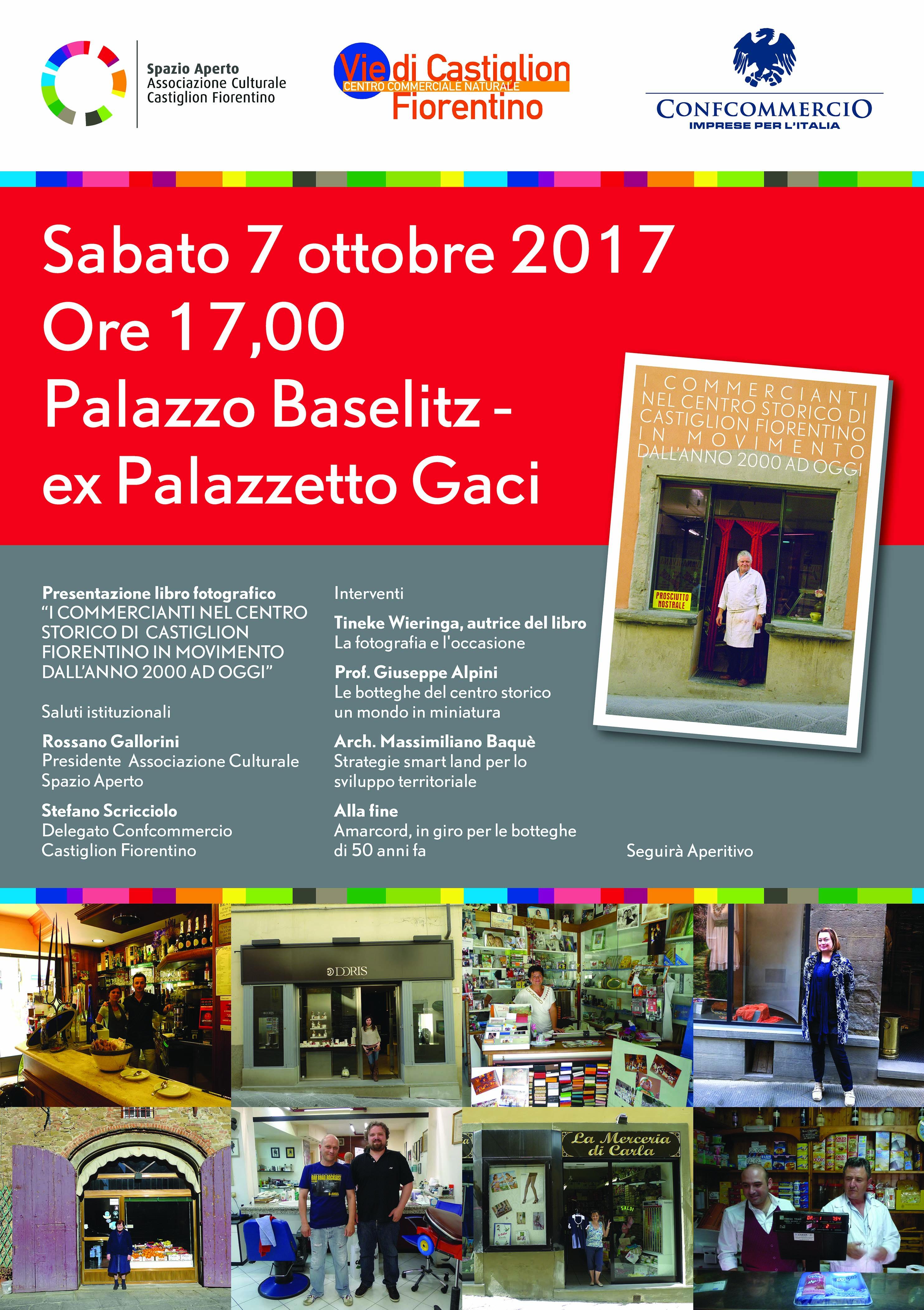 I commercianti del centro storico di Castiglioni in movimento dall'anno 2000 ad oggi