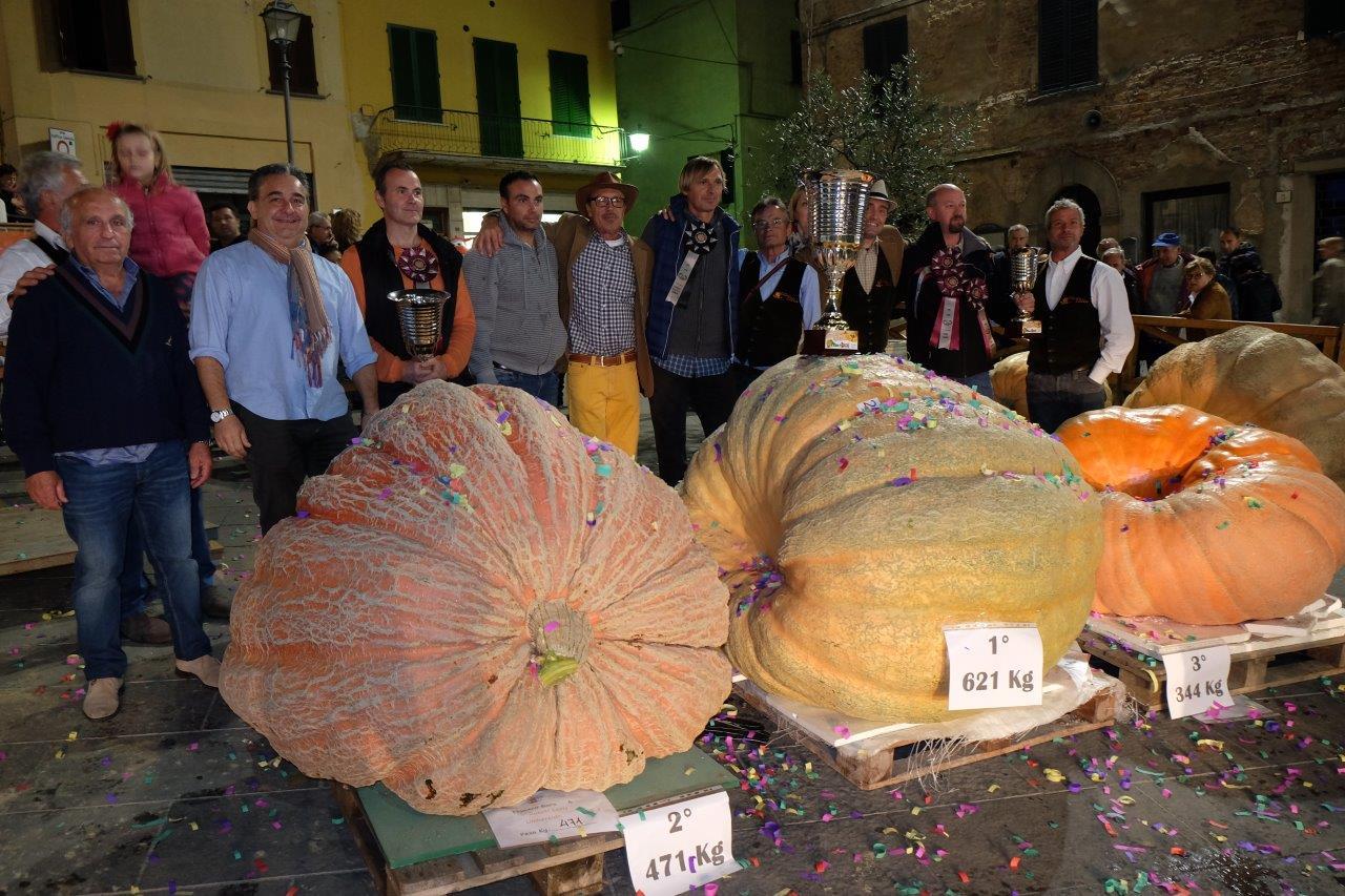A Foiano torna la battaglia delle Zucche giganti