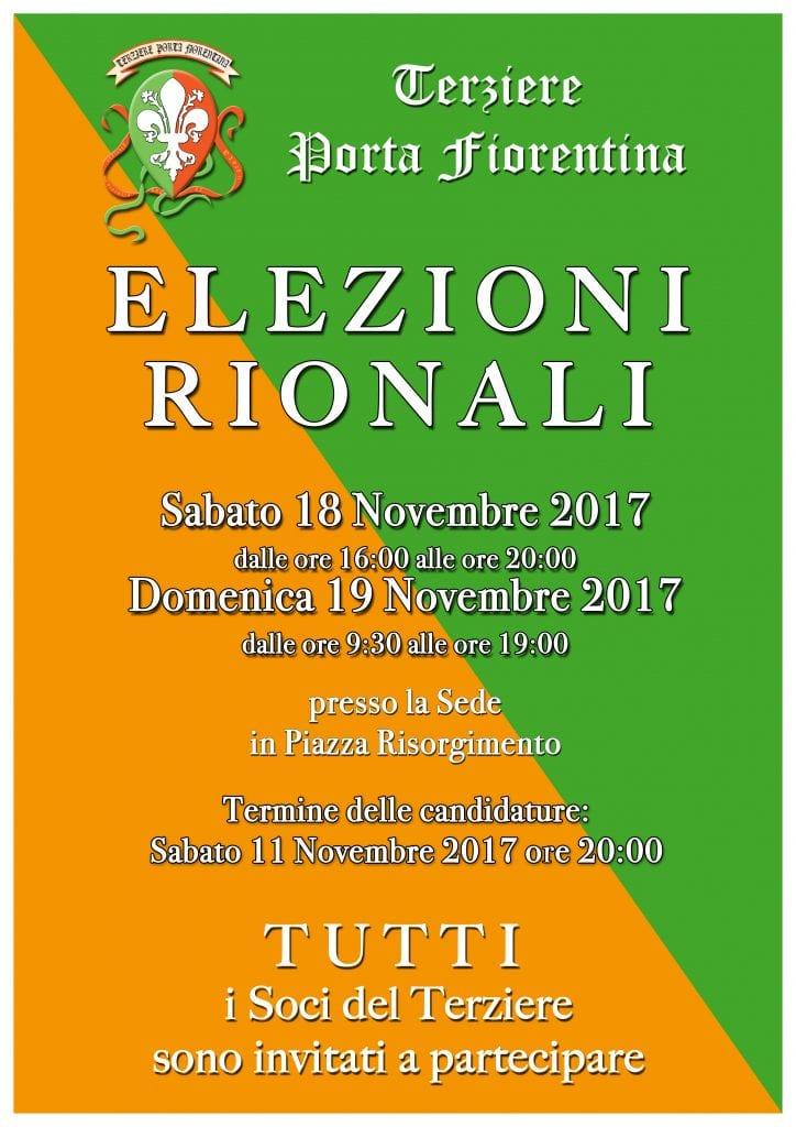 Elezioni Rionali del Terziere Porta Fiorentina