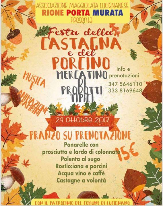 Colori e sapori d'autunno a Lucignano