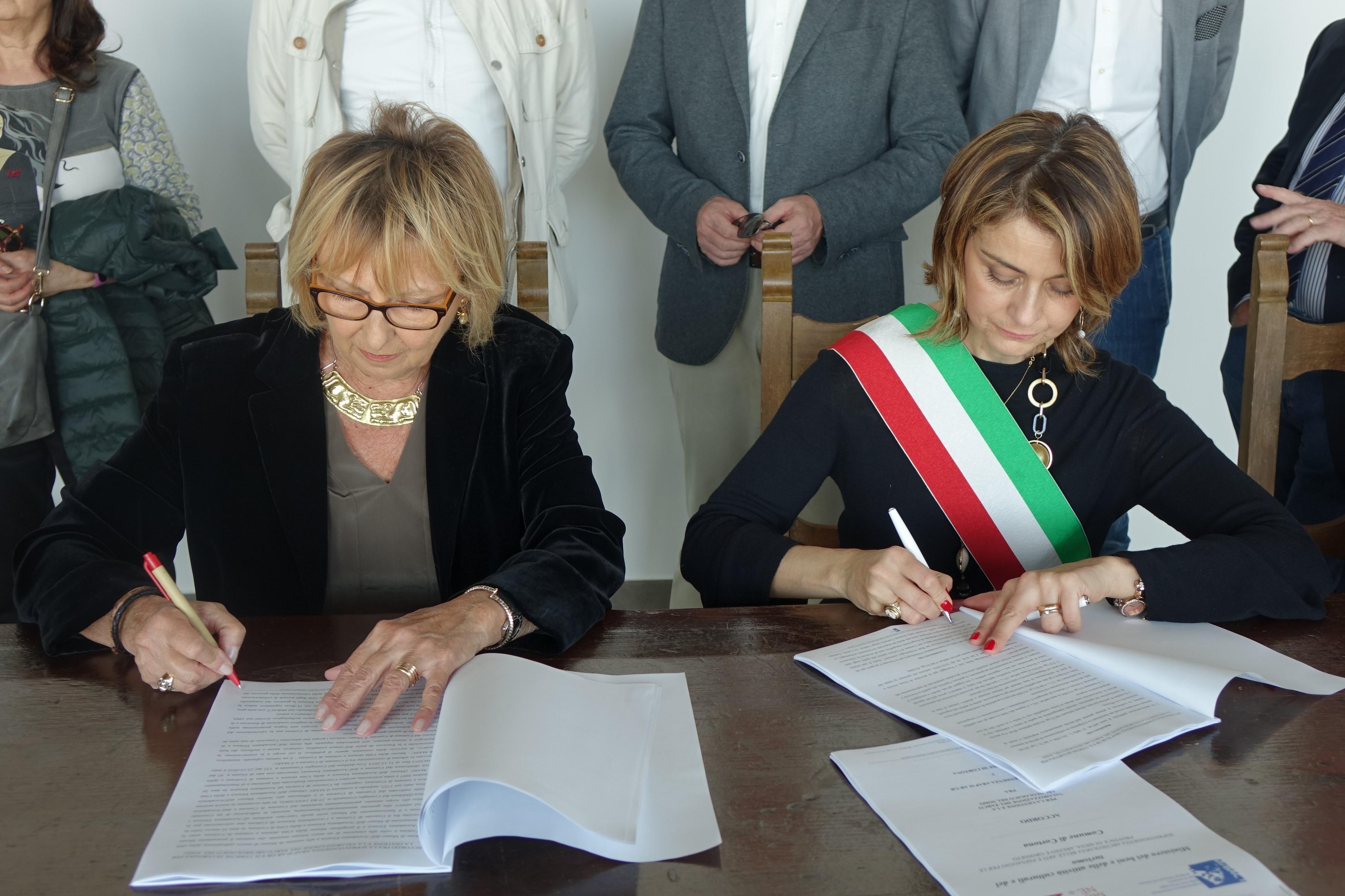 Firmato l'accordo Comune - Soprintendenza per la gestione del Parco Archeologico del Sodo