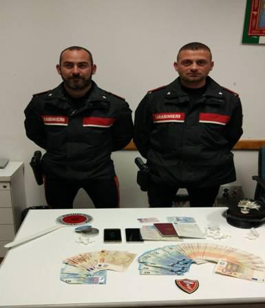 27enne arrestato per spaccio a Cortona