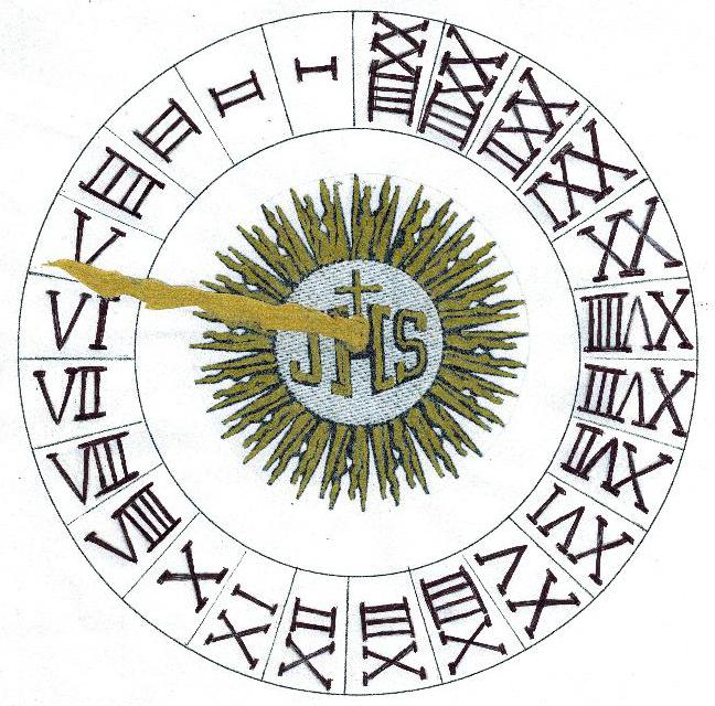 Cortona: l'orologio del Comune un tempo era così...