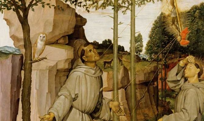 Resta a Castiglion Fiorentino il San Francesco di Bartolomeo della Gatta