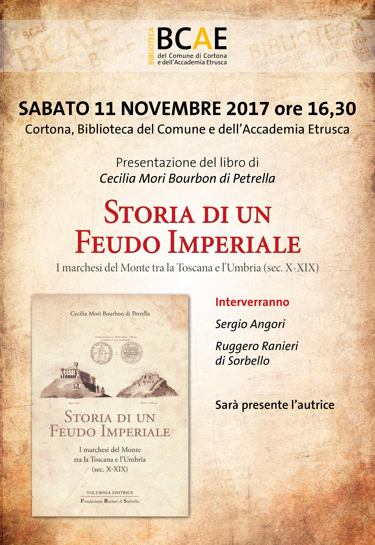 Alla biblioteca di Cortona la presentazione del libro di Cecilia Mori sui Marchesi del Monte