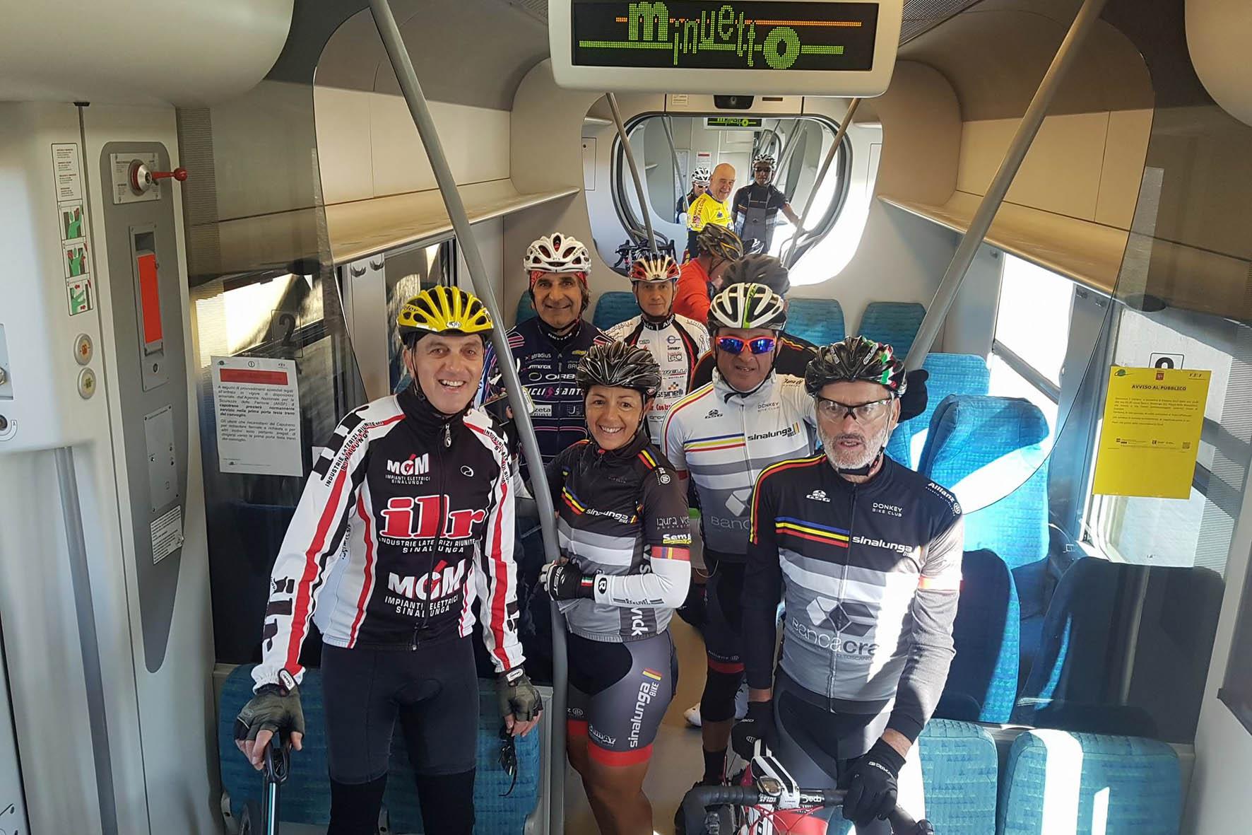 Il treno del Gigante Bianco fa tappa a Chiusi