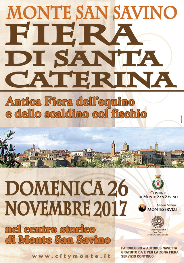 Dallo Street Food al Tiro all'anello tante novità per la Fiera di Santa Caterina 2017