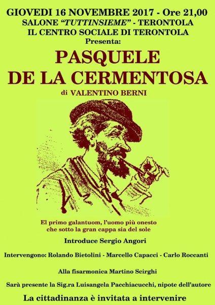 Pasquele della Cermentosa, uno spettacolo al Centro Sociale di Terontola