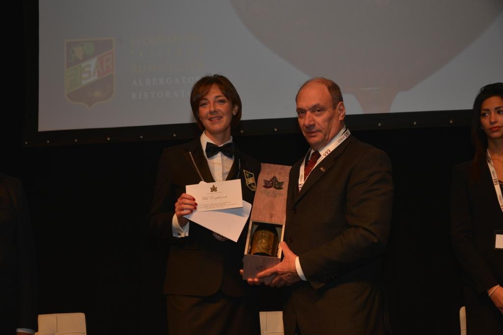 Miglior Sommelier d'Italia, Cortona Vini premia Fisar