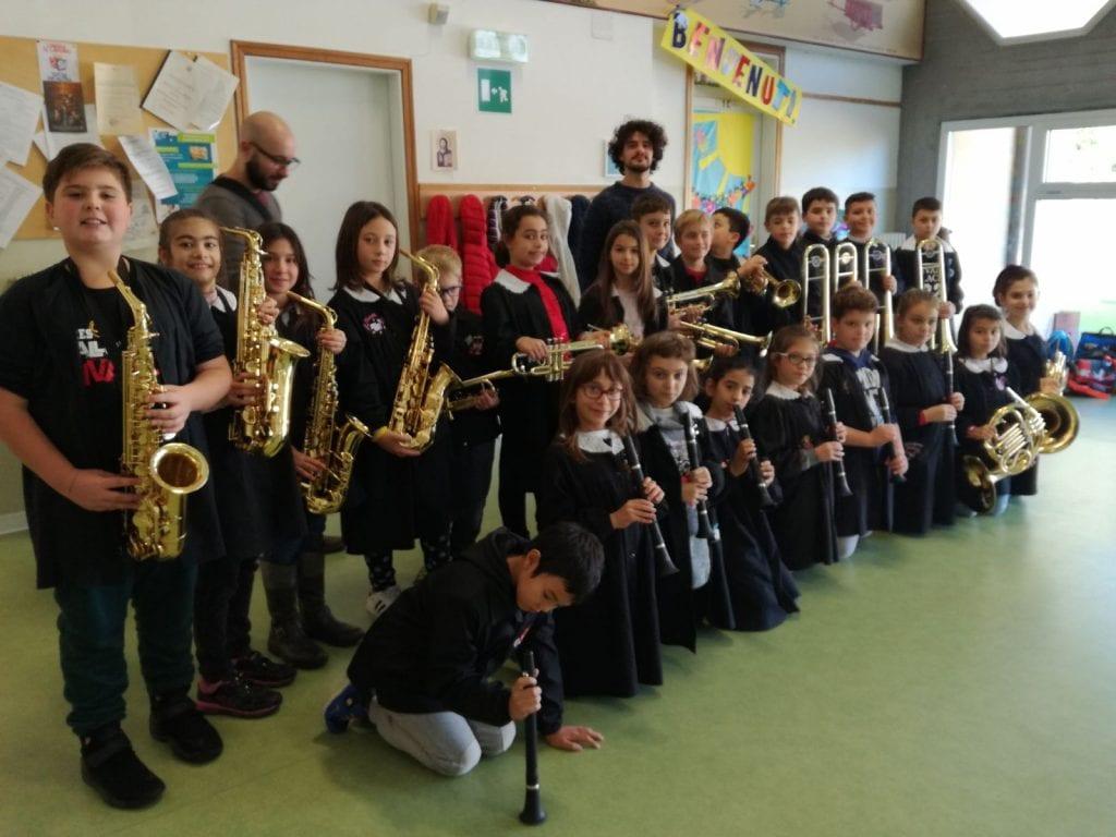 A Scuola con gli strumenti musicali in tutti i plessi di Montepulciano