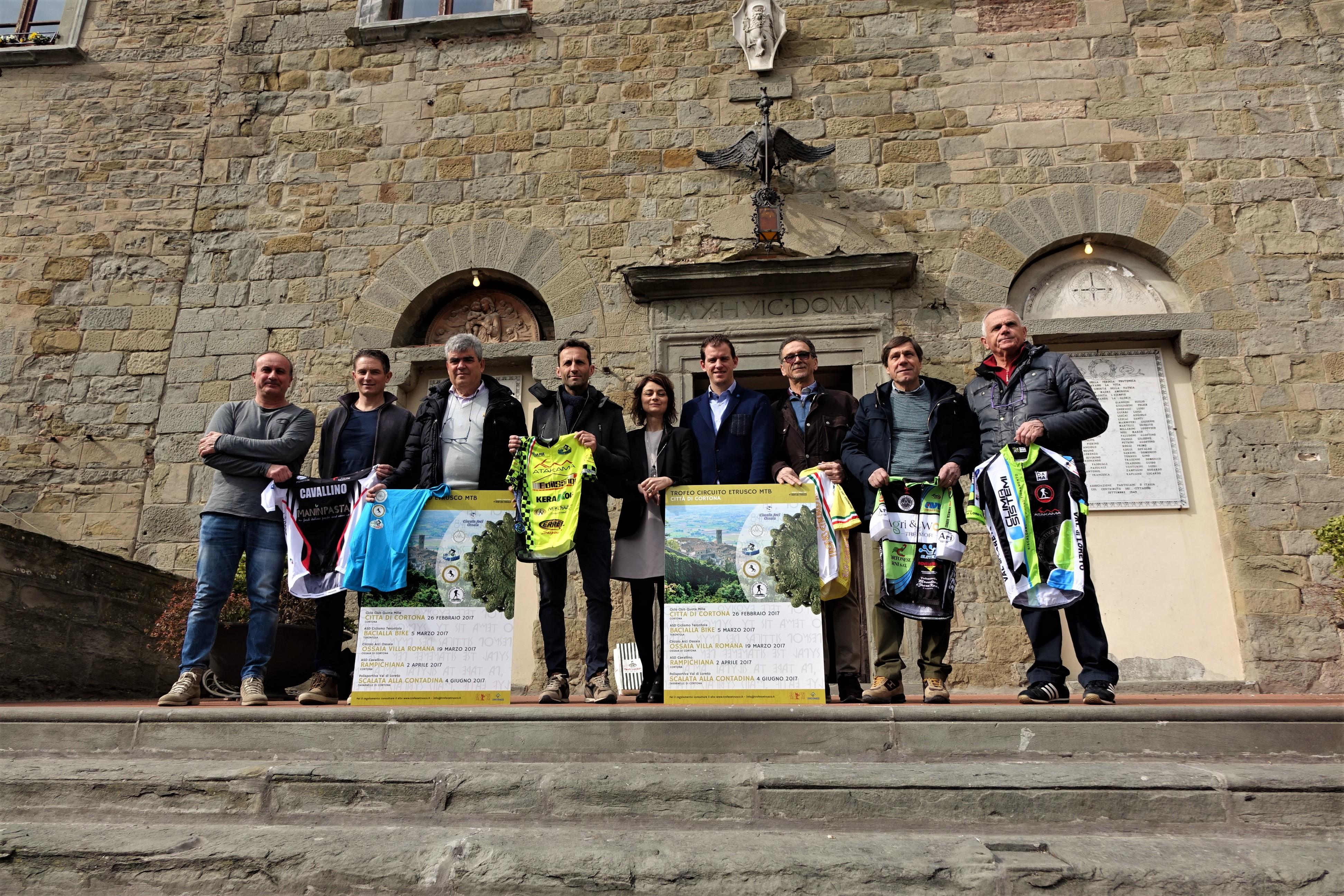 A Cortona la premiazione del Circuito Etrusco MTB