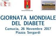 Giornata Mondiale del Diabete, iniziativa a Camucia del Lions Club e ADI Valdichiana