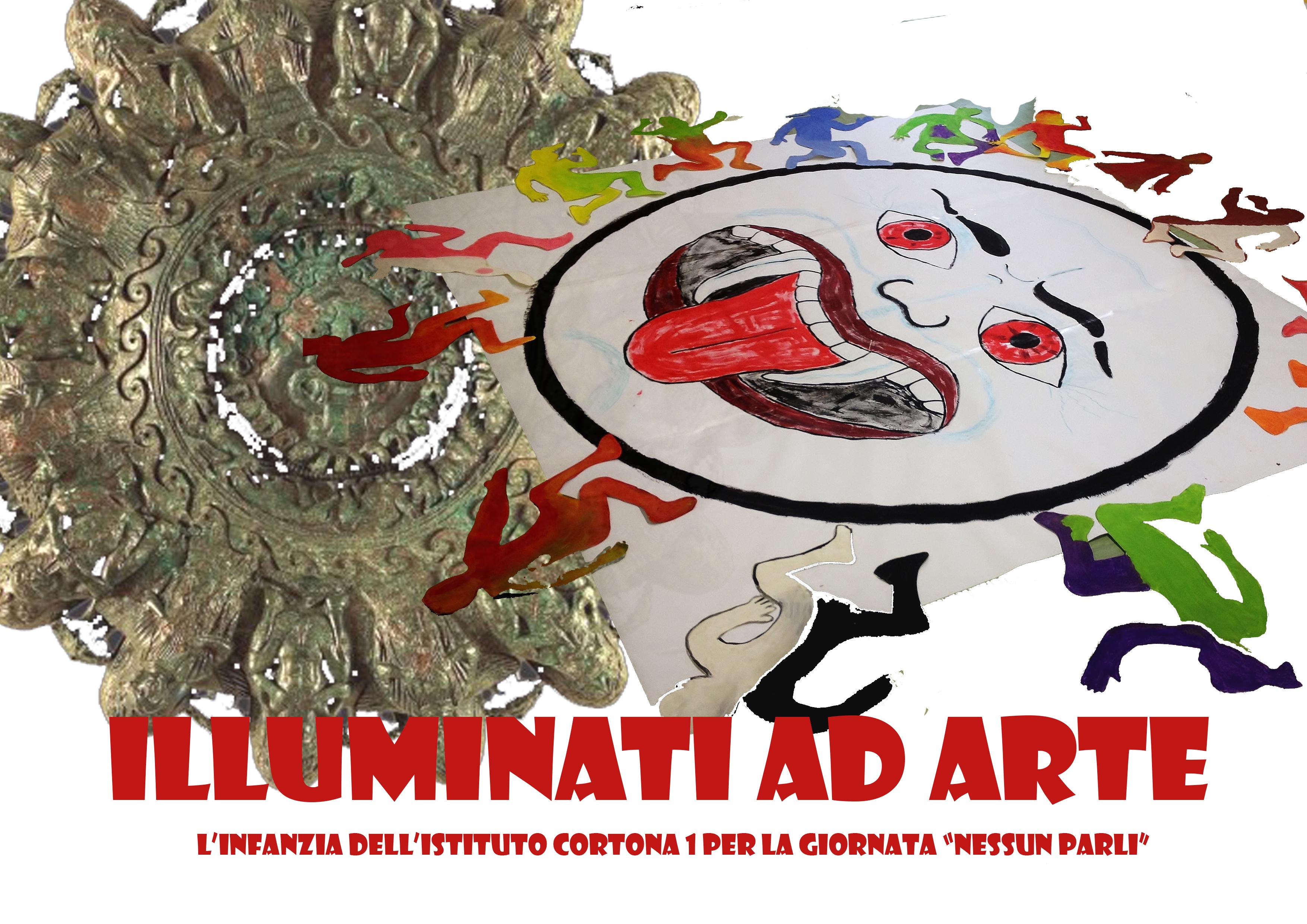 In Piazza Signorelli un'installazione realizzata dagli studenti dell'Istituto Comprensivo