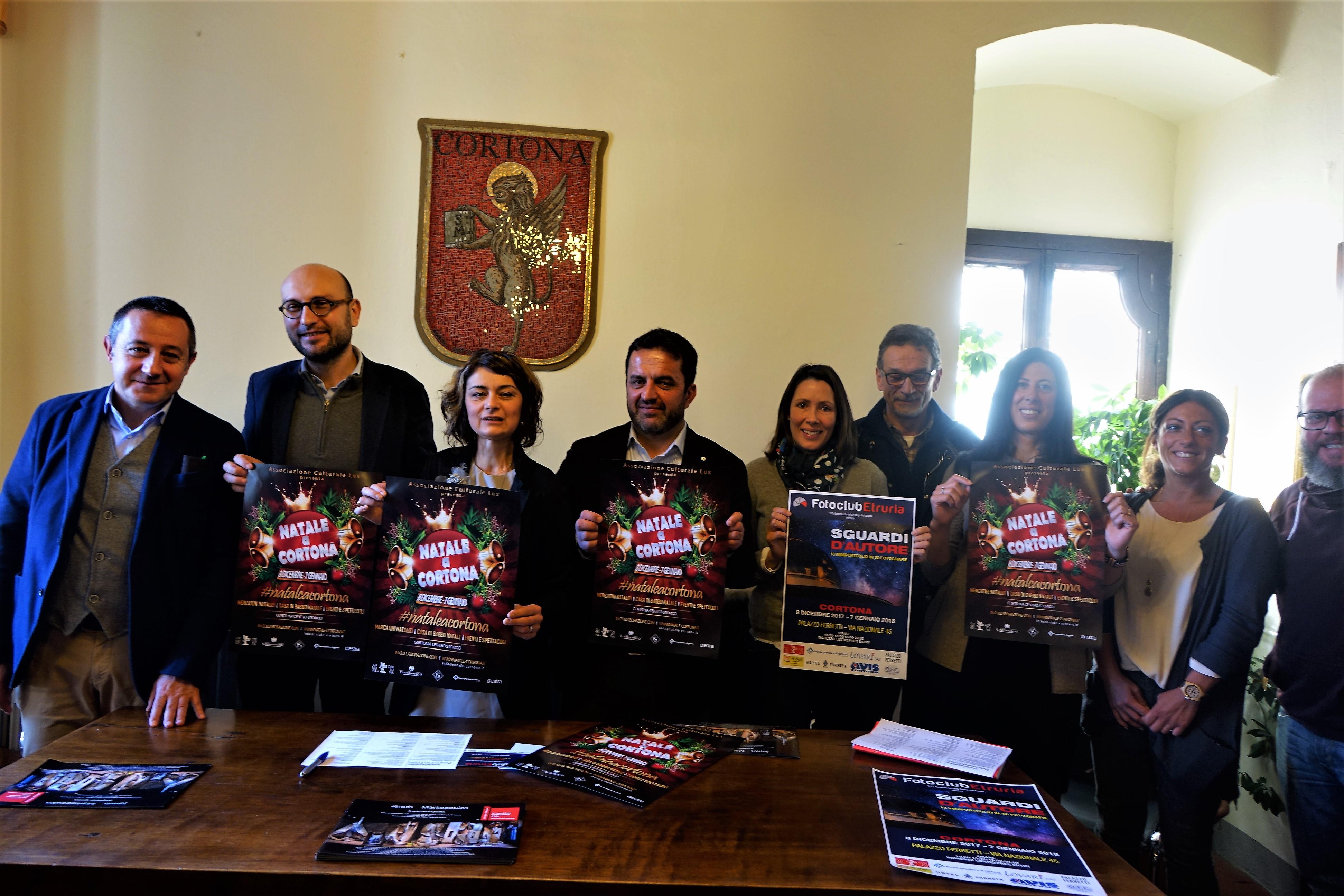 Natale a Cortona: presentato il cartellone degli eventi