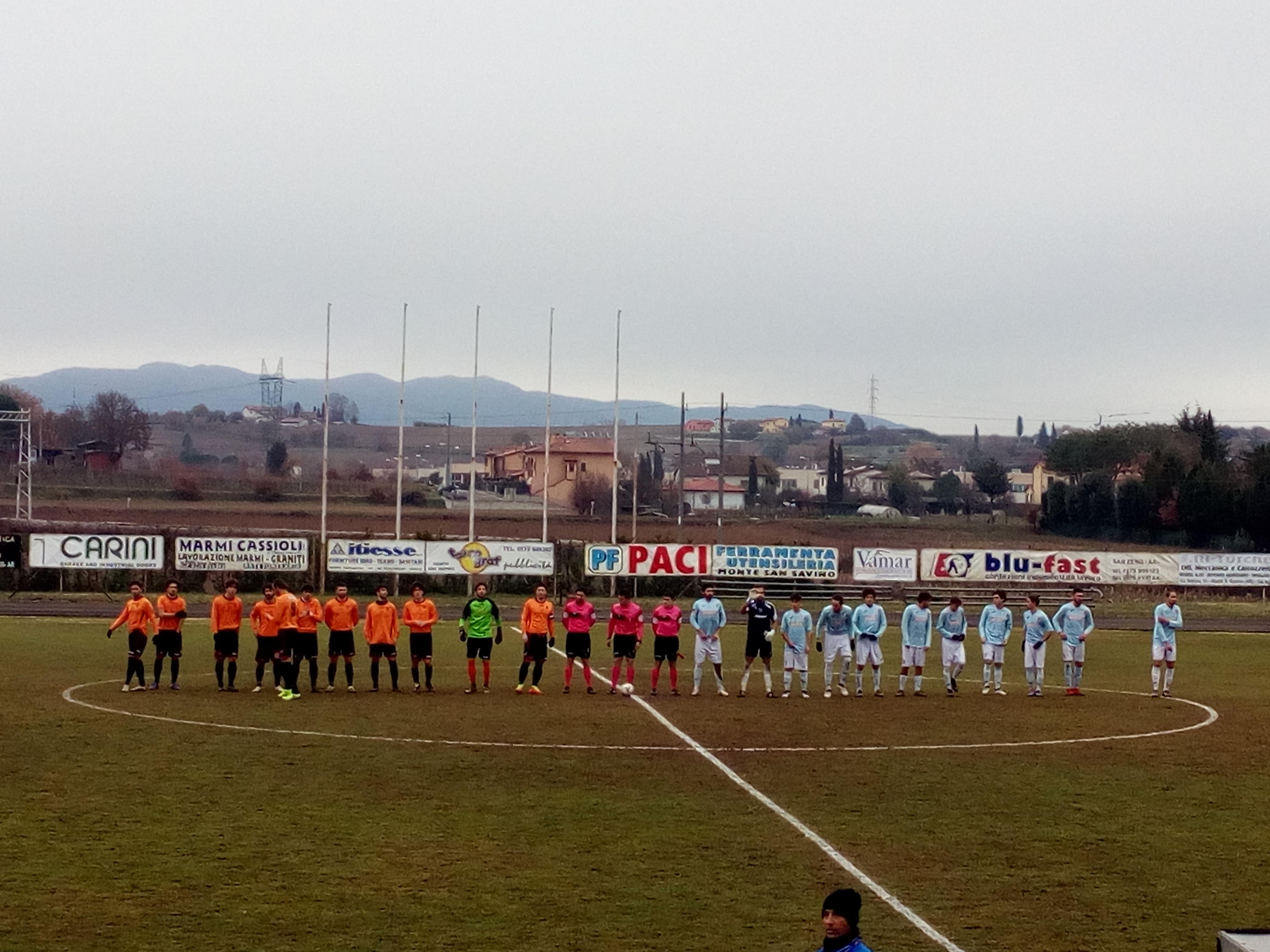 Cronache Arancioni: un bel pari fra Sansovino e Cortona nel derby della Valdichiana