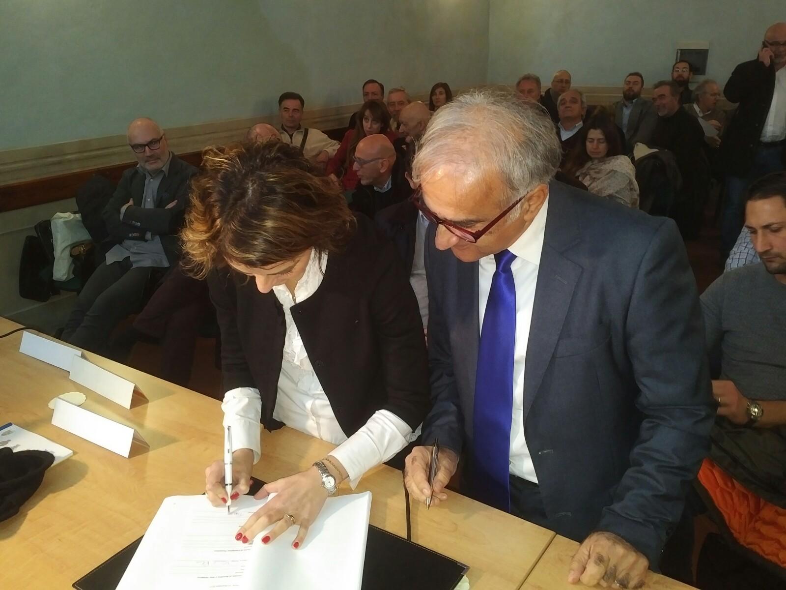 Firmato a Cortona il