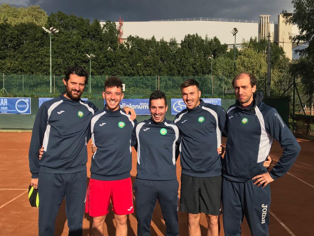 Niente rimonta: a Palermo il TC Sinalunga retrocede in A2
