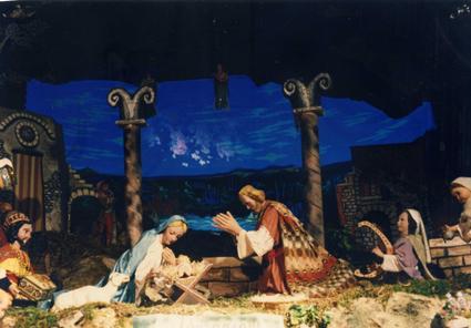 Sul borgo di Predappio Alta scende di nuovo l'incanto del Natale