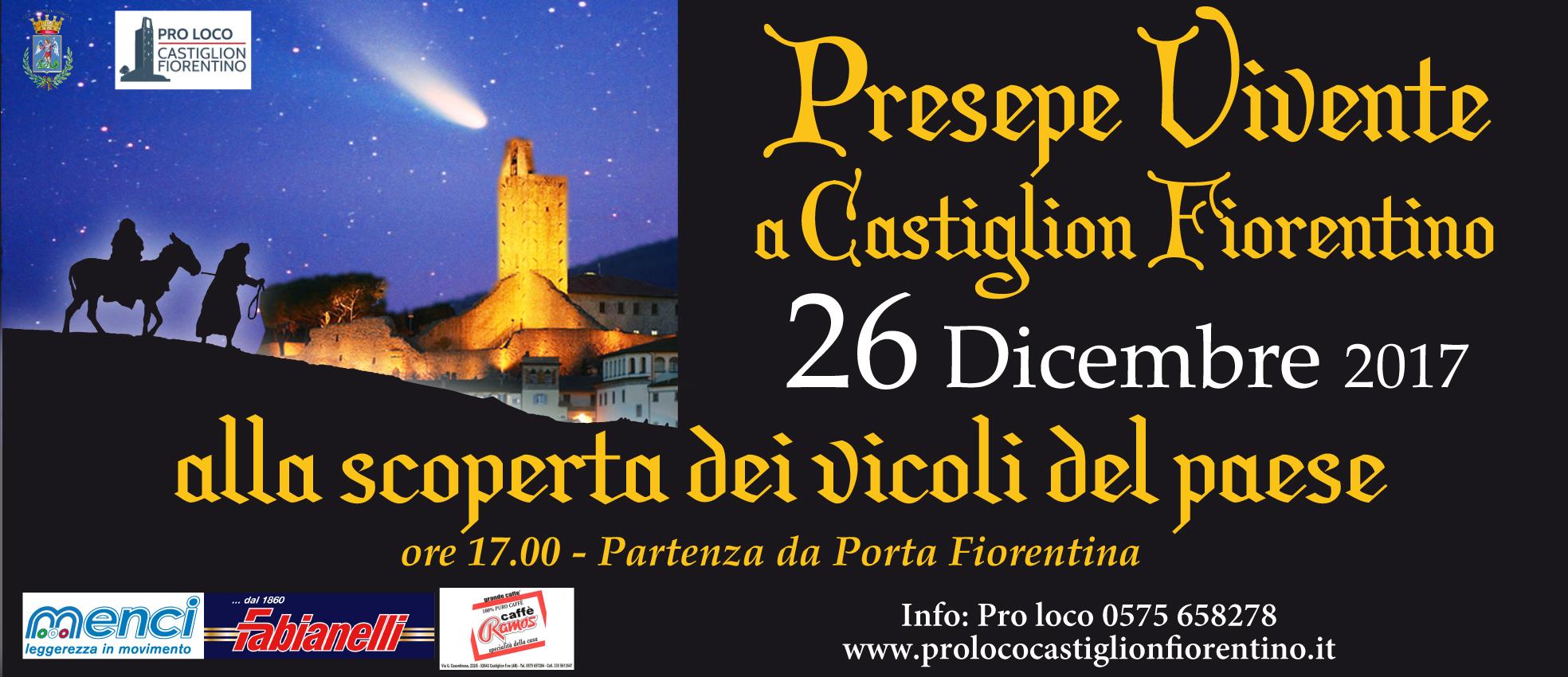 Torna a Castiglion Fiorentino il Presepe Vivente
