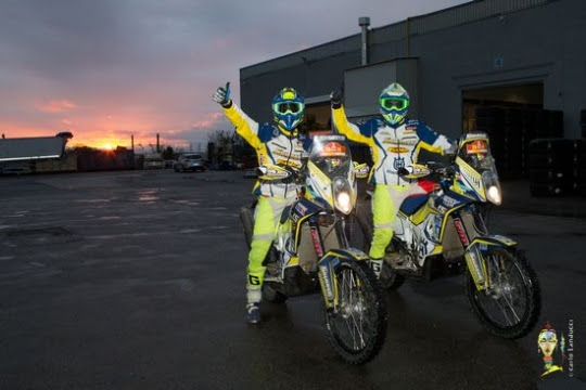 Due piloti di Solarys Racing in partenza per la Dakar