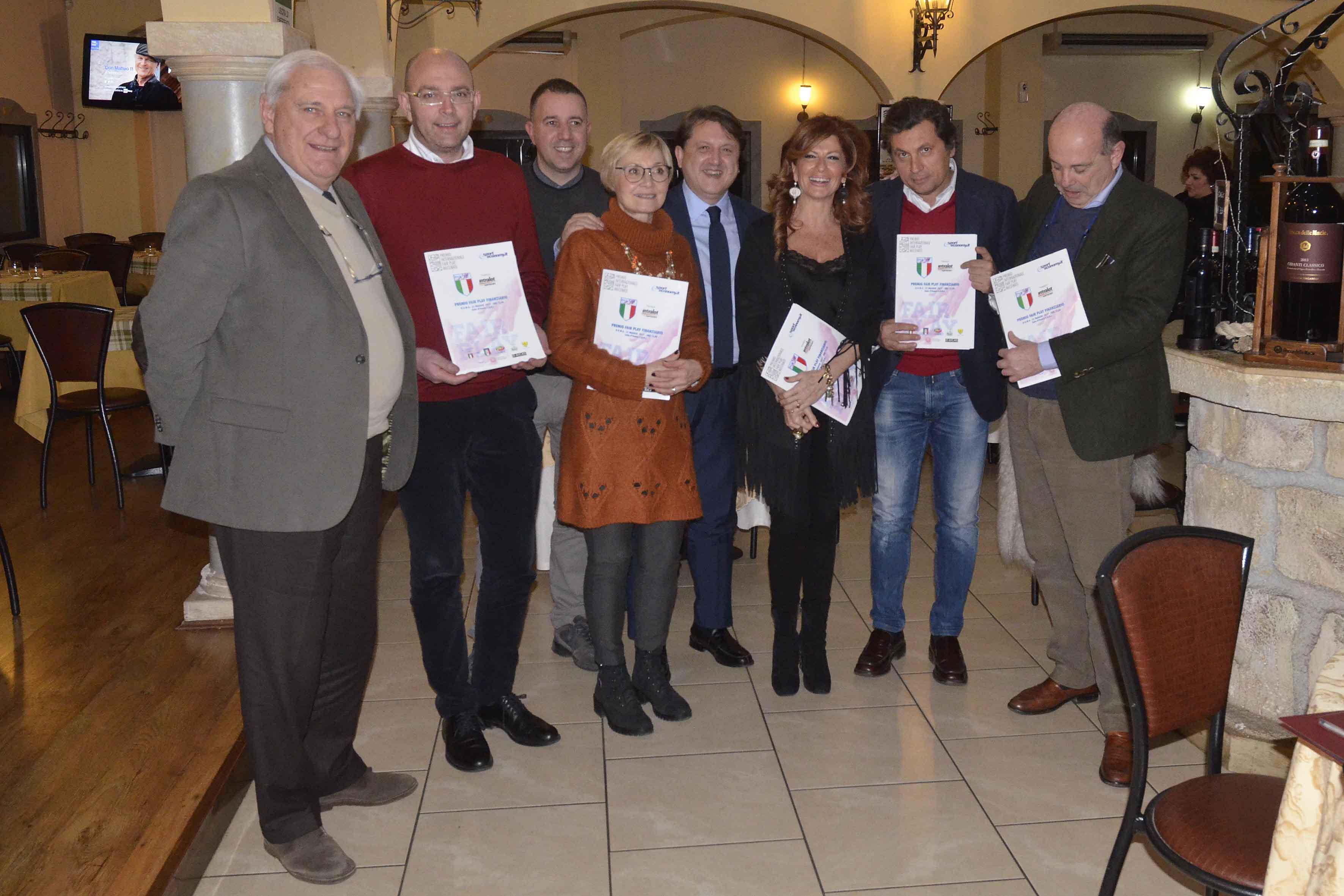 Anche quest'anno il Premio Fair Play Mecenate sarà a Castiglion Fiorentino