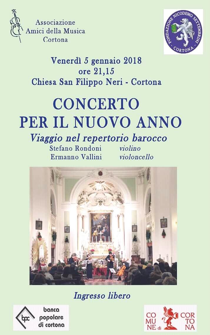 Concerto per il nuovo anno nella Chiesa di San Filippo a Cortona
