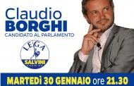 Lega Nord organizza cena col candidato Claudio Borghi a Cortona